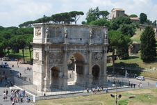 Free Arch In Rome Stock Image - 16928921