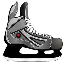 Free Ice Hockey Skates Royalty Free Stock Image - 16929356