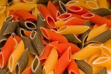 Free Closeup Shot Of Raw Italian Pasta Stock Image - 16929831