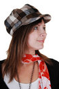 Free Lady With Hat. Stock Photography - 16930172
