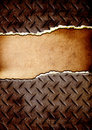 Free Cracked Metal Plate With Place For Text Stock Images - 16936394