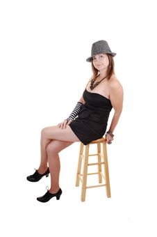 Free Lady With Hat. Royalty Free Stock Image - 16930076