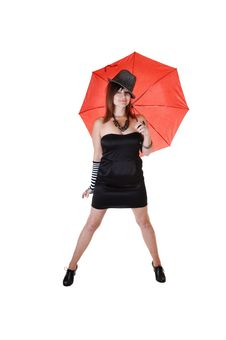 Free Lady With Hat. Stock Image - 16930081