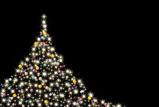 Free Colorful Abstract Christmas Tree Stock Photos - 16930153