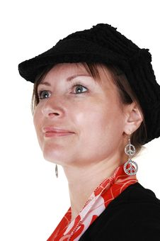 Free Lady With Hat. Royalty Free Stock Images - 16930269