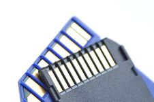 Free Close-up Memory Cards Stock Photo - 16931520
