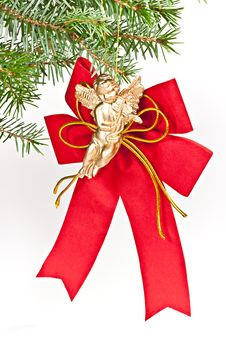 Free Angel Christmas. Stock Images - 16931834