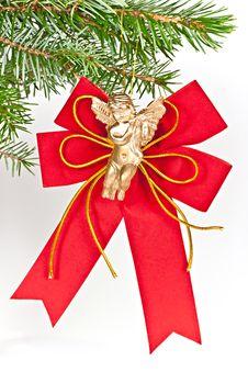 Free Angel Christmas. Stock Image - 16931851