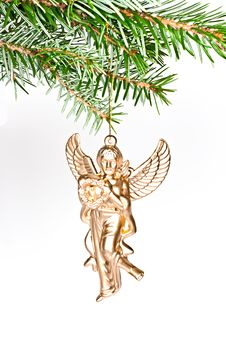 Free Angel Christmas. Royalty Free Stock Photos - 16931858