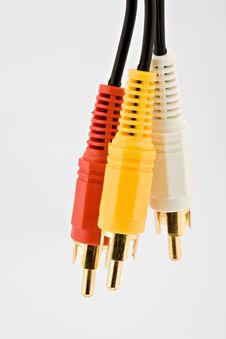 AV Cables Stock Image
