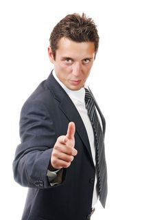 Free Portrait Of A Young Ambitious Business Man Stock Images - 16934524