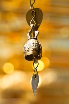 Free Isolated Tradition Asian Bell Royalty Free Stock Photos - 16934548