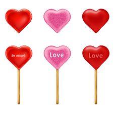 Free Lollipops. Vector Royalty Free Stock Photos - 16935468
