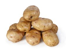Free Potato Combined By A Pyramid Royalty Free Stock Photography - 16936357