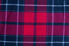 Free Texture Of Red-black Checkered Fabric Stock Photos - 16937283