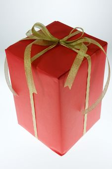 Free Christmas Gift. Royalty Free Stock Images - 16937319