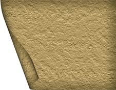Free Textural Old Paper Roll Stock Image - 16937541