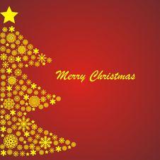 Free Christmas Tree Royalty Free Stock Photography - 16937587