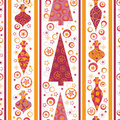 Free Seamless Pattern With Decorated Balls And Gifts Stock Photo - 16944190