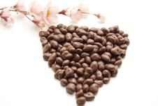 Free Heart From Chocolate Stock Images - 16942564