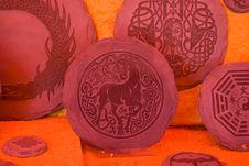 Free Handwork Stone Plates Stock Photography - 16942792