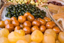 Free Dry Fruits On The Market Stock Photos - 16942833