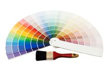 Free Color Guide For Selection Royalty Free Stock Photo - 16943125