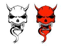 Free Demon Skulls Royalty Free Stock Photos - 16943378
