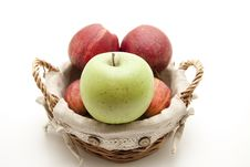 Free Red Apples And Green Apple Stock Images - 16943884