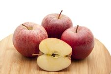 Free Halved Apple Royalty Free Stock Photo - 16943975