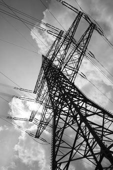 Free High Voltage Pylon Stock Photos - 16944303