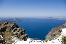 Free Gorgeous View Of Romantic Santorini Stock Photography - 16944582