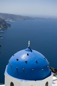 Free Church Bells On Santorini Island Stock Photos - 16944633