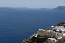 Free Gorgeous View Of Romantic Santorini Stock Images - 16944704