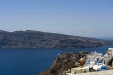 Free Gorgeous View Of Romantic Santorini Stock Image - 16944731