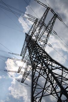 Free High Voltage Pylon Stock Photos - 16944943
