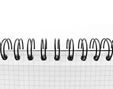 Free Macro Of Paper Notebook Royalty Free Stock Photos - 16944978