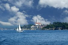 Free View Of The Old City Rovinj, Croatia Stock Image - 16945671