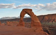 Free Delicate Arch Stock Images - 16946544