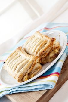 Free Two Apple Strudels Stock Images - 16947014