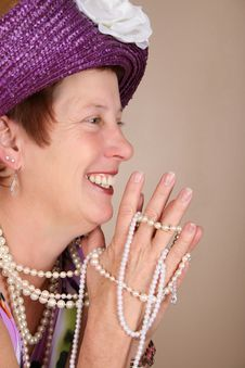 Free Laughing Lady Stock Photo - 16947700