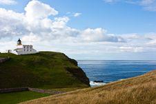 Free Scottish Lighthouse Royalty Free Stock Photography - 16947827