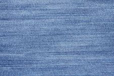 Free Texture Of Blue Jeans. Royalty Free Stock Images - 16948279