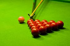 Billiards Stock Image