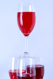 Free Red Glass Stock Images - 16949614