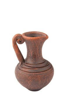 Clay Jug Stock Photography