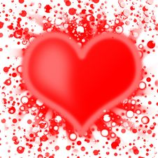 Free Abstract Heart Stock Photography - 16950312