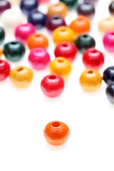 Free Colorful Beads Royalty Free Stock Photography - 16950357