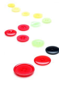 Free Colorful Buttons Stock Photography - 16950372