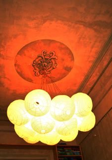 Free Paper Chandelier Royalty Free Stock Photo - 16950935